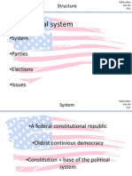 US Politicial System 3