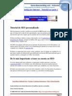 DESCARGAR GRATIS TUTORIAL SEO - El SEO y el Marketing por Internet
