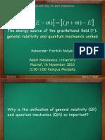 F=[p-(E-m)]=[(p+m)-E]