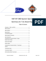 1997 OBD 7.3 Diesel SYStem Operation