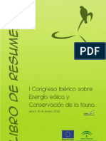 i Congreso Sobre Energia Eolica y Conservacion de La Fauna. Libro de Resumenes