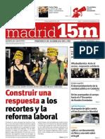 MADRID 15M. NÚMERO CERO