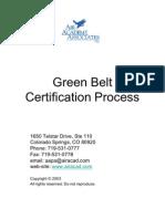 Green Belt Certification Process 09
