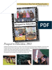 Passport to Education - Advertising Rates 2012