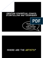 Creating Conceptual Comics