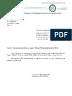 Regolamento Campionato Italiano BassFishing 2012