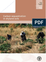 Carbon Sequestration in Dryland Soil