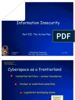 Information In Security Part 3 the Action Plan