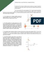 PROBLEMAS DE INTRODUCCIÓN A LA ELECTROSTÁTICA Y MAGNETOSTÁTICA