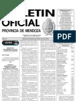 Ley 8063-09 Colegio de Geografoss Boletin Oficial