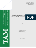 Aslan R. Kasimov and D. Scott Stewart- Asymptotic theory of ignition and failure of self-sustained detonations