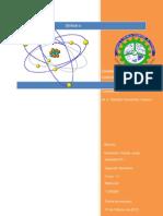 Cuadro Comparativo de los Diferentes Modelos Atómicos
