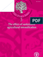 The Ethics of Sustainable Agricultural Intensification