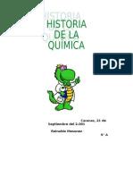 evolucion quimica