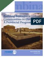 Building Sustainable Urban Community - SmartGrowth_PR_Sept2006