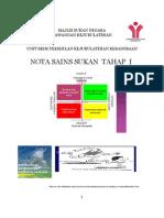 Sains Sukan Tahap i 2011