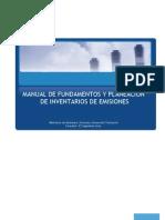 Manual Para Inventarios de Emisiones