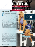 Muscle and Fitness Ultra 12 Month Program