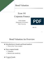 Lecture 0 Bond Valuation