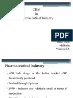 CRM- Pharma Presentation
