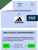 Supply Chain Management (Adidas)