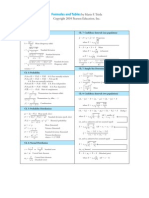 Stat11t_formulas-Triola 11th Ed.