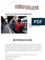CÁLCULOS DE LEVANTAMIENTOS GEODÉSICOS 2