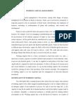Working Capital Management Unit - IV
