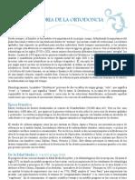 Historia_ortodoncia Ortodonciaintegral.comdescargashistoria_ortodoncia