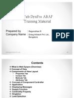 ABAP Webdynpro Introduction