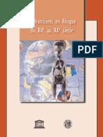 Des frontières en Afriques du XIIe au XXe siècle