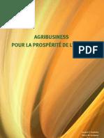 AGRIBUSINESS POUR LA PROSPÉRITÉ DE L'AFRIQUE