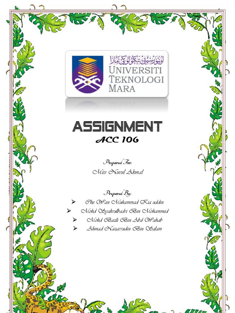 assignment acc jan