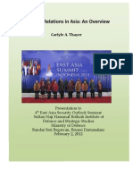 Thayer Strategic Relations in Asia