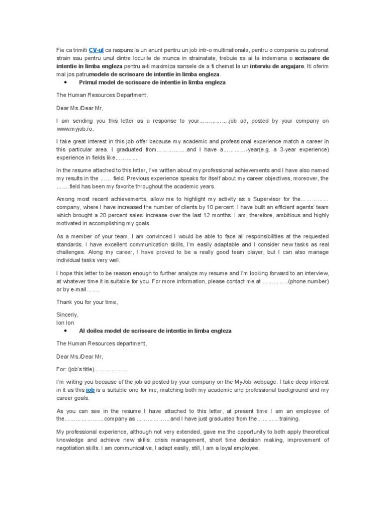 Cum să scrieți o scrisoare de intenție pentru propunerea de finanțare