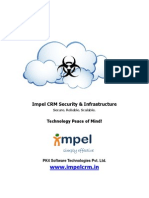 Impel CRM Security and Infrastructure