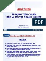 BRC-IfS Training in Savina Cantho 11-12.10