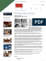 A Marriage of Origami and Robotics | Stories | Harvard Alumni Affairs & Development (AA&D)