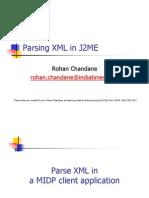 Parsing XML in J2ME