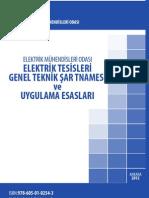 EMO Elektrik Tesisleri Genel Teknik Şartnamesi 2012