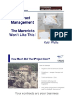 TAMS 2009 PS Contract Management