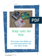 Tutorial - Scrappy Loyalty Card Wallet