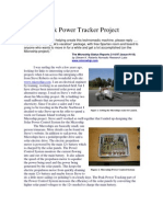 Peak Power Tracking Article