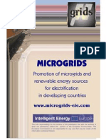 Micro Grids Results Report