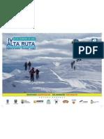 Alta Ruta Esqui Travesia Fuentes Invierno-Pajares 2012