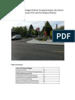 The Street Maintenance Fee, A Brief History_v1