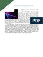 Aplikasi Gelombang Cahaya Dalam Bidang Teknologi2