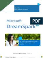 Microsoft DreamSpark priručnik/vodič