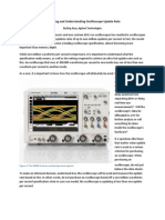 Measuring and Understanding Oscilloscope Update Rate