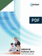 DMS Studie 2012 - Dokumenten Management System Software